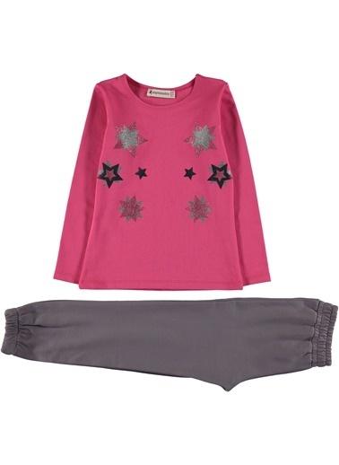 Asymmetry Pijama Takım Pembe